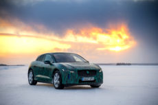 Jaguar I-Pace im Winter